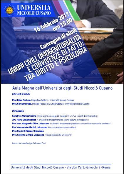 Ecco cosa c'è da sapere sullo strumento dei convegni universitari della Niccolò Cusano di Palermo declinato dal campus universitario di Roma.